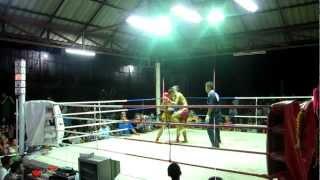 Muay Thai Koh Tao 2012 Hong Kong vs Thailand