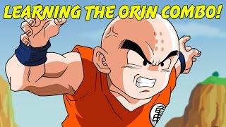 Krillin Teaches Orin Combo! | Roblox Dragon Ball Z Online Revelations [DBOR]