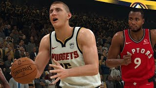 Raptors vs nuggets full game highlights nba today march 1, 2020 with toronto denver in 2k as pascal siakam takes on nikola jokic who w...