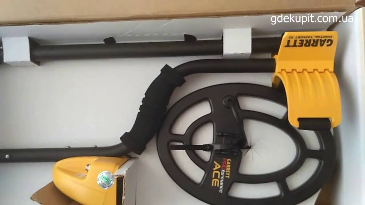 Металлоискатель Garrett ACE обзор. - YouTube