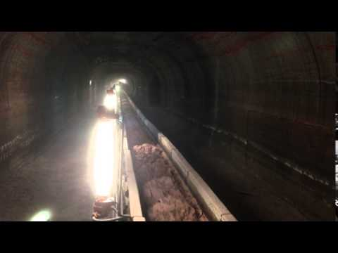 MOP mine - underground transportation of the mineral