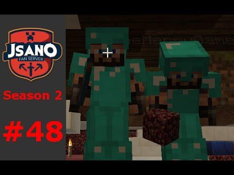 Minecraft: JSano Fan Server - S2 E48 - Shopping District