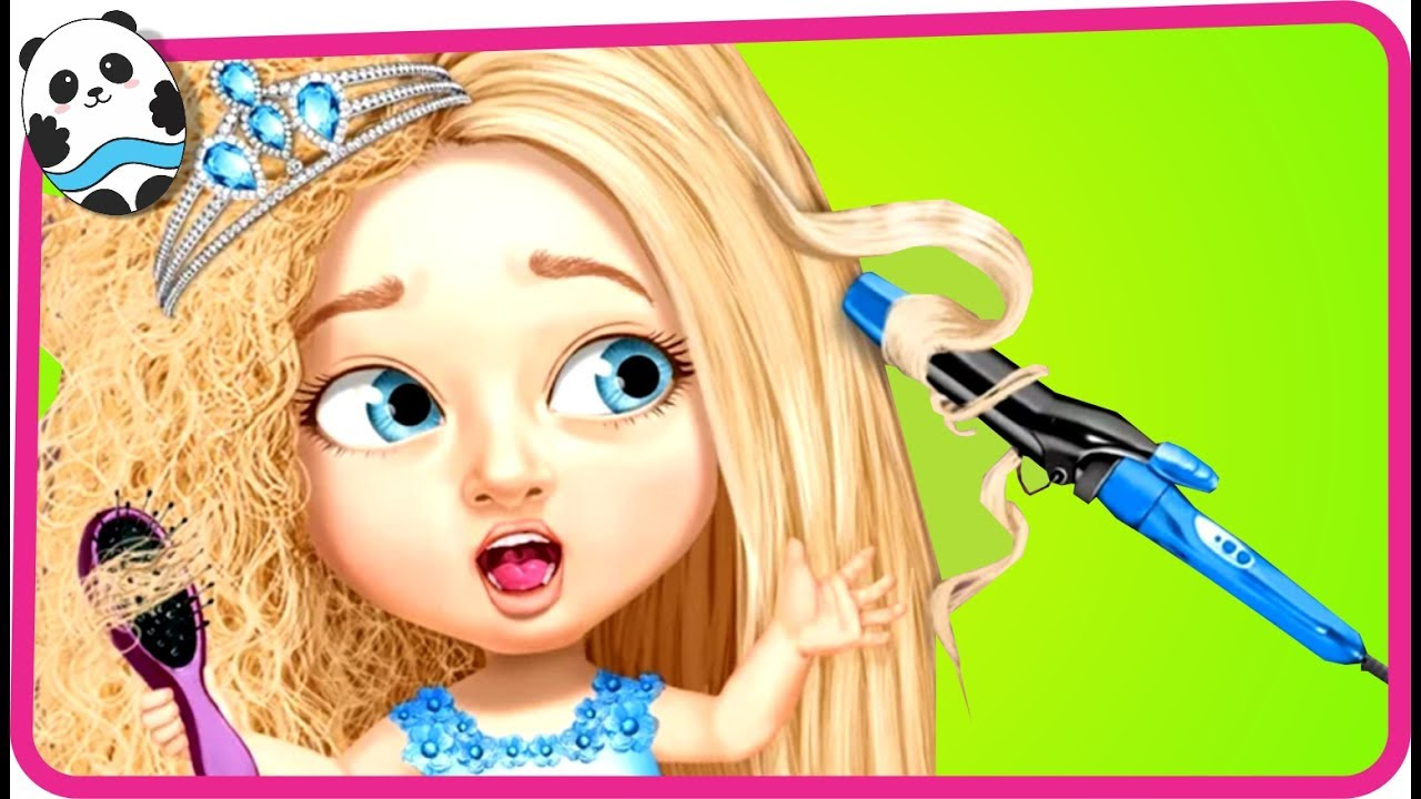 Fun Baby Care Kids Game  Sweet Baby Girl Beauty Salon 3  Hair Nails  Spa Makeover Game for