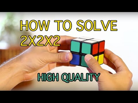 How to Solve a 2x2x2 Rubik's Cube: (Easiest Tutorial in High Quality)