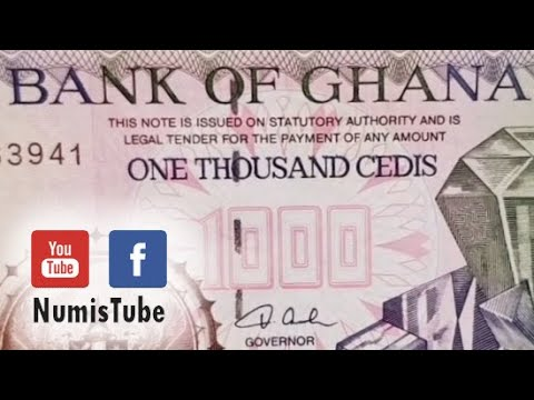 BANKNOTE │ Ghana 1000 Cedis 2003 │ Info & Market Prices