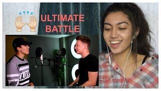 Bruno Mars - 24k Magic (SING OFF vs. Alex Aiono) | REACTION