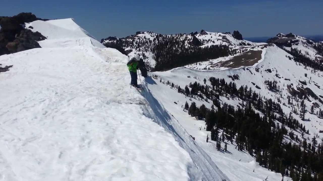 Wagon Wheel Chair Revolving Hardware Kirkwood Ski Resort Closing Day 2013 All The Way Chute - Youtube