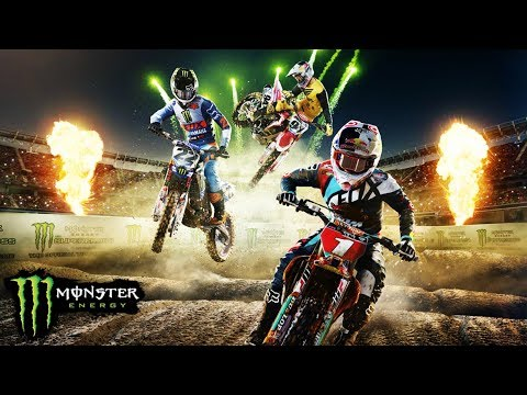 MONSTER ENERGY THE GAME - NASCE A LENDA DO SUPERCROSS! #UnleashTheBeast