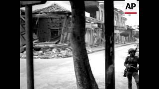 NICARAGUA EARTHQUAKE - NO SOUND