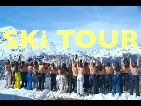 EXCHANGE STUDENTS SKiiNG iN THE ALPS (GONE SHIRTLESS) (GONE CRAZY) (GONE AUSTRIAN) *not clickbait*