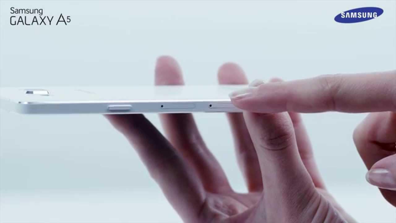 Samsung A5 Sd Karte Einlegen.Samsung Galaxy A Serie Sim Karte Einlegen Und Herausnehmen How To Video
