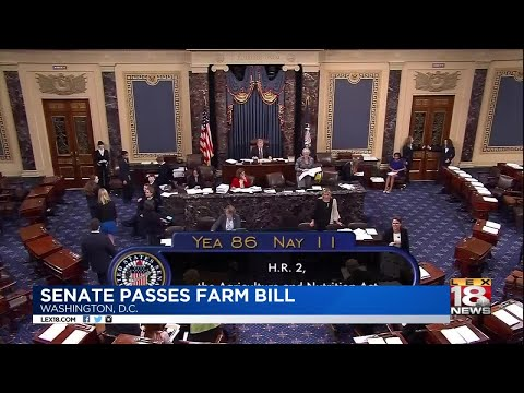 Senate Passes Farm Bill