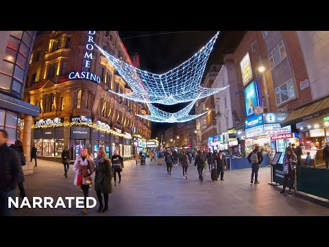 MEGA Christmas Walking London (Narrated) 3/3 ✨ Covent Garden, Seven Dials, Leicester Square