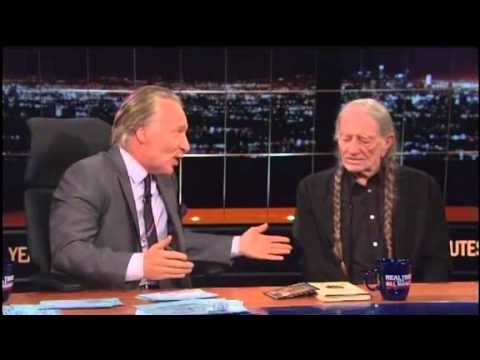Bill Maher and Willie Nelson Explain Why Americans Will Accept Pot Before Gay Marriage