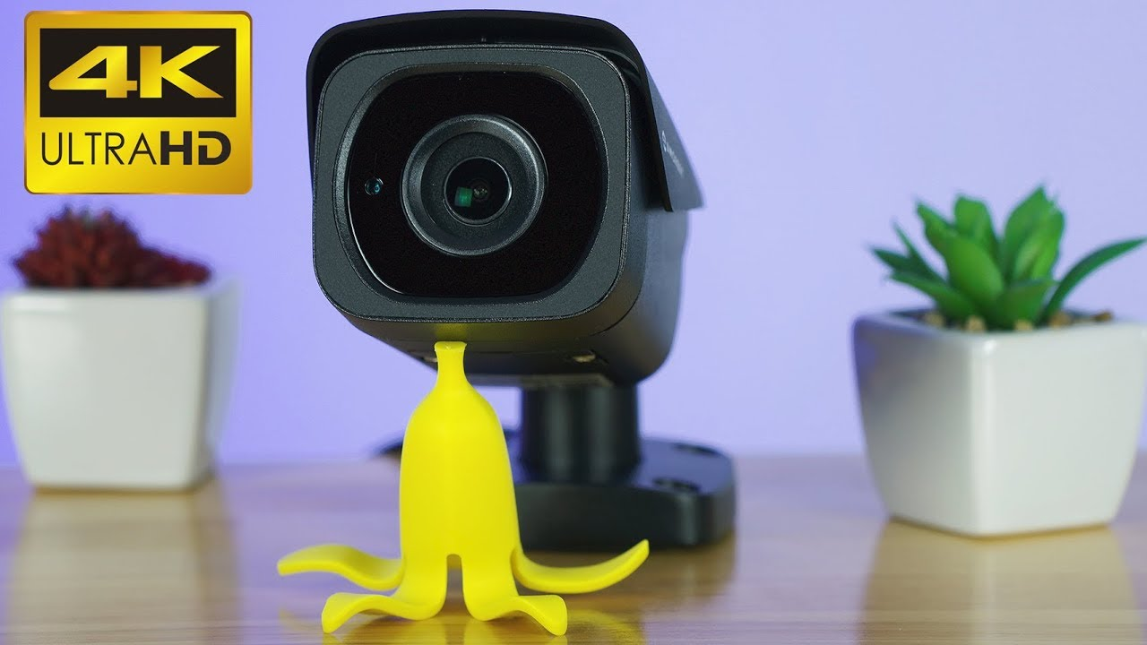 04a308769ed8 Amcrest UltraHD 4K PoE IP Bullet Security Camera - Review - YouTube