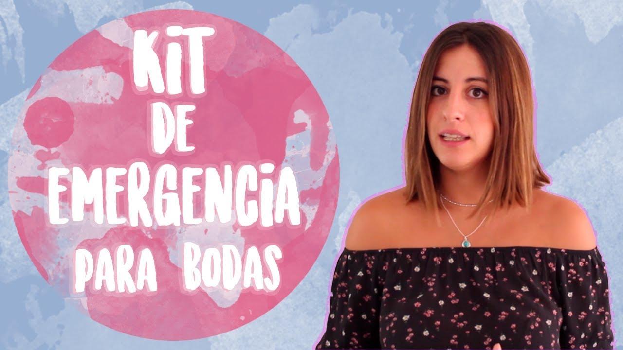 KIT DE SUPERVIVENCIA PARA BODAS | Ideas chulas para boda - YouTube