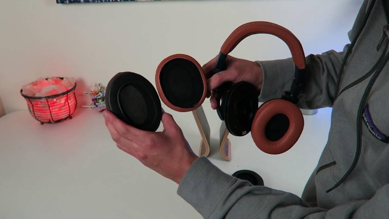 Make Your Headphones Comfortable!! BrainWavz Ear pad install ATH-M50 X