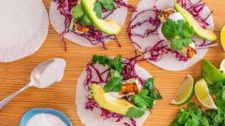 "How To Make Fish Tacos on Jicama ""Tortillas"" By Gwyneth Paltrow"
