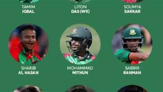 SQUADS FOR ICC CRICKET WORLD CUP 2019. #iccworldcup2019 #worldcupteames #worldcupindia