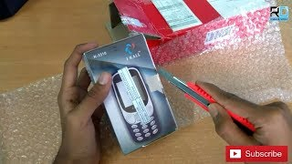 I kall k-3310 (Rs 650)unboxing and review ( copy of nokia-3310 )||Buying from Snapdeal