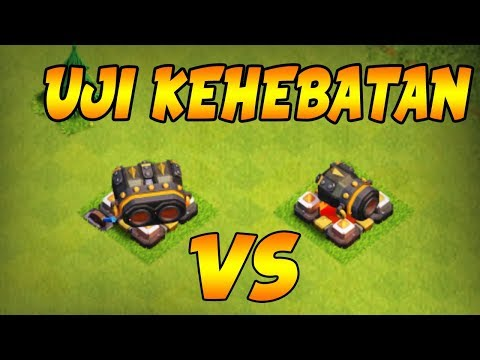 SIAPA YANG MENANG? DOUBLE CANON MAX VS CANON - Clash of Clans Indonesia