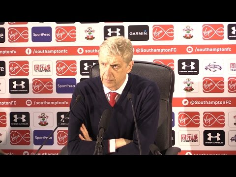 Southampton 0-2 Arsenal – Arsene Wenger Full Post Match Press Conference