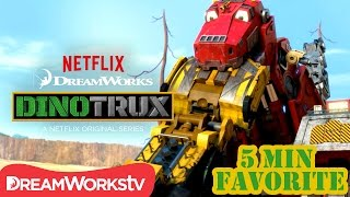 Download Lagu 5 Minute Favorite: Tar Pit Rescue | DINOTRUX mp3