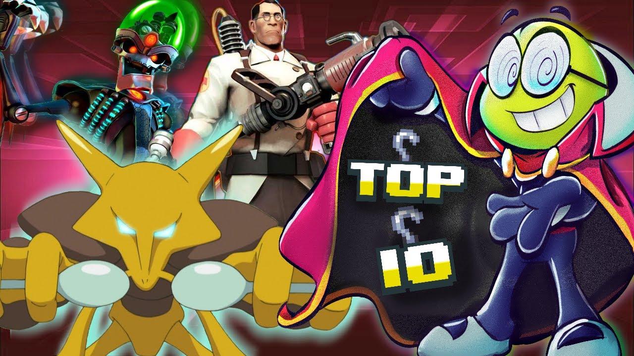 Top Ten Geniuses in Video Games