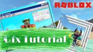 HOW TO MAKE A ROBLOX GFX ON YR PHONE(tutorial)
