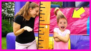 Kin Tin wants to be Taller & Jump on a Trampoline! Is Kin Tin too Tall?