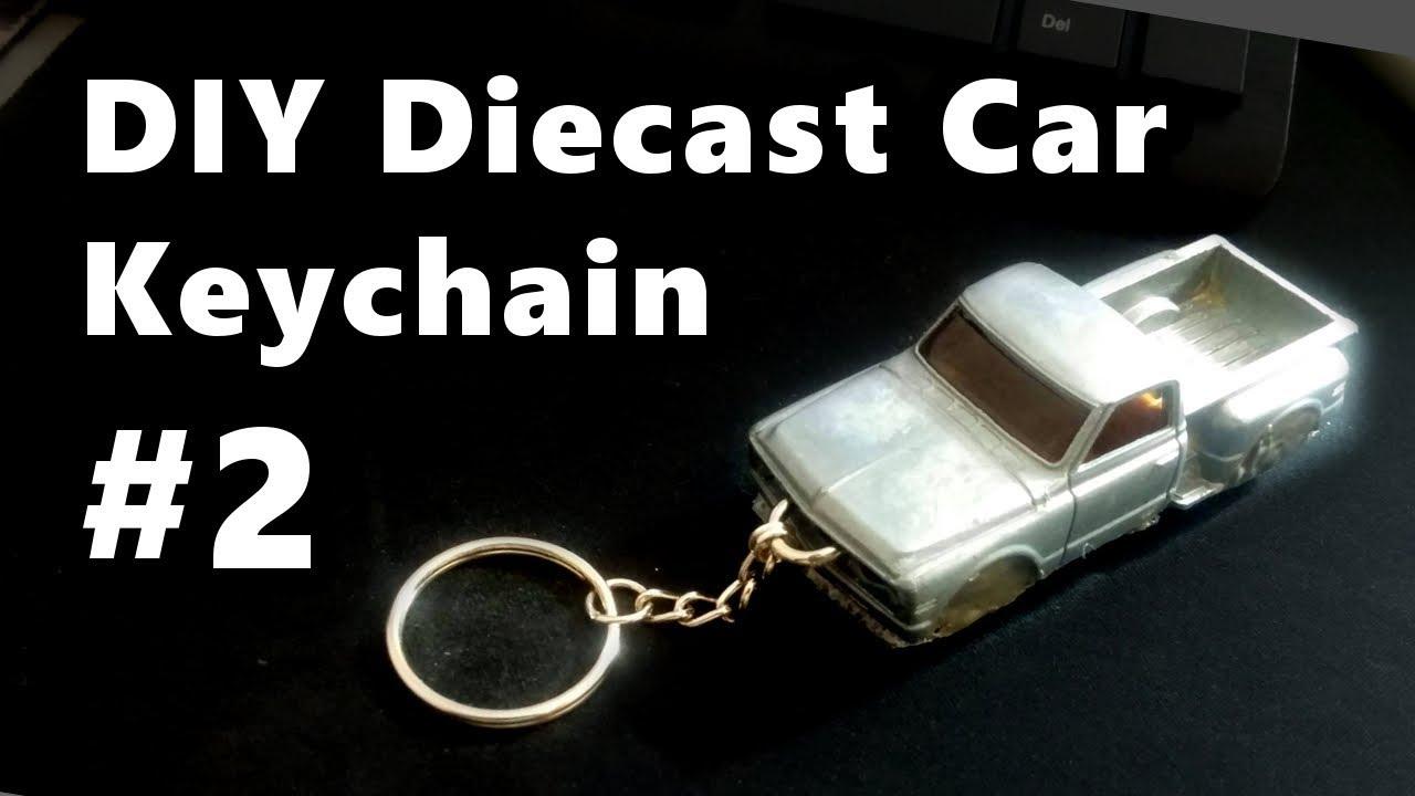 Diy Diecast Car Keychains 2 Aae Youtube