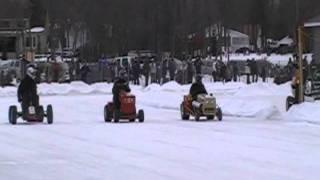 Course de tracteur sur glace asbestos -(trois lacs) 18 février 2012