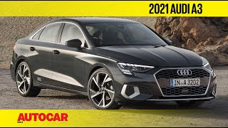 All-new Audi A3 Sedan Revealed | First Look | Autocar India