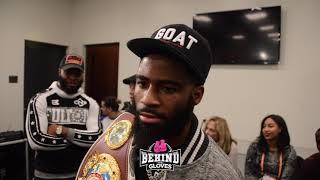 Stephen Fulton REACT'S to Arnold Khegai FLOORING HIM mid-fight! Talks Danny Garcia, next fight!