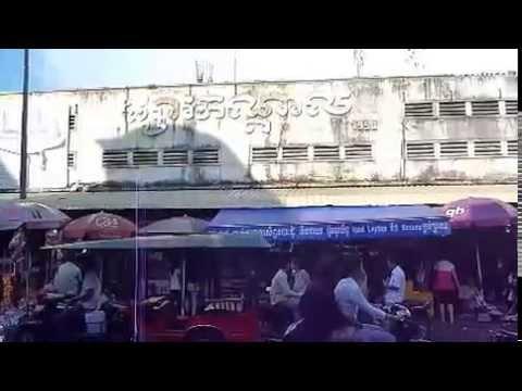 Cambodia 14 เดินในพนมเปญ.wmv