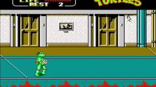 Teenage Mutant Ninja Turtles II - The Arcade Game - Stage 1 Music - User video