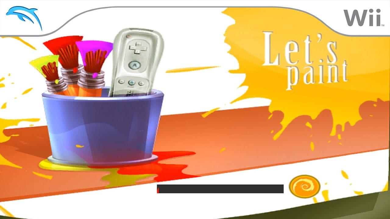 Let's Paint | Dolphin Emulator 5.0-12245 [1080p HD] | Nintendo Wii