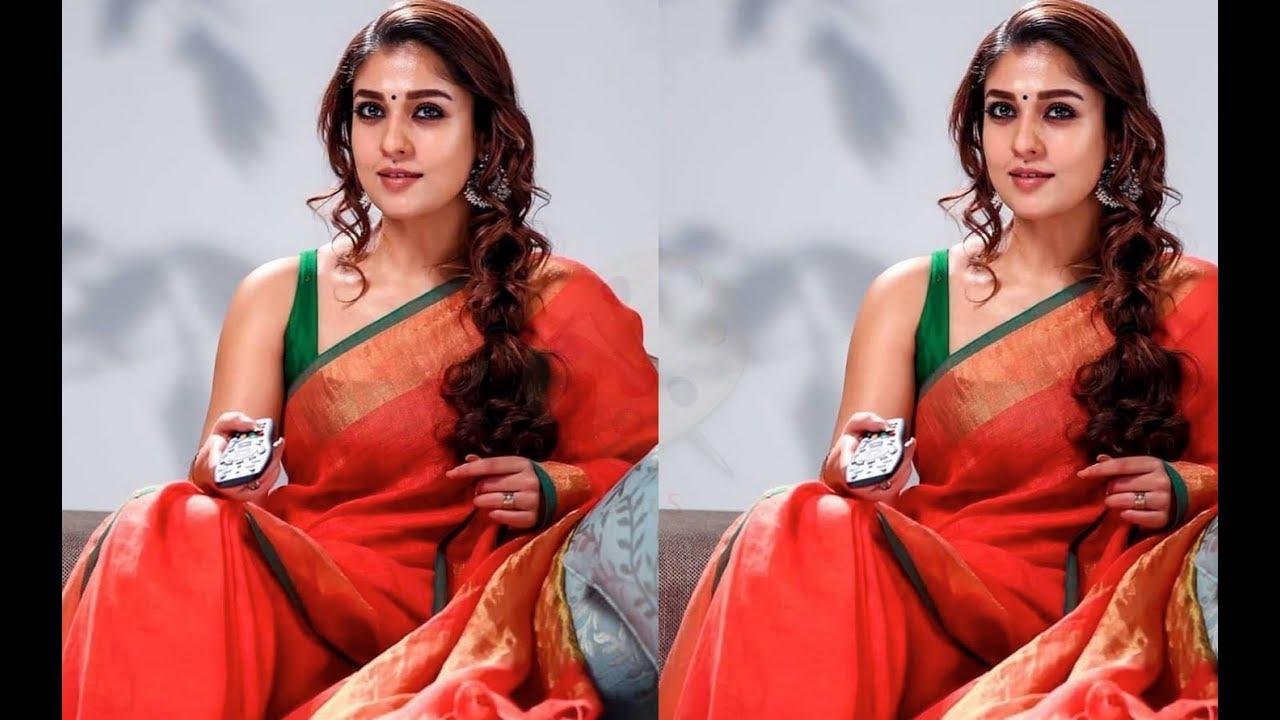 Image result for Nayanthara In Saree