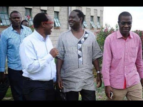 Who are the key players behind Raila Odinga's think-tank
