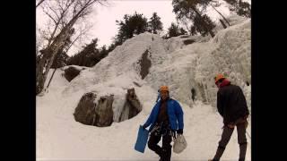 Journée de grimpe à Montagne d