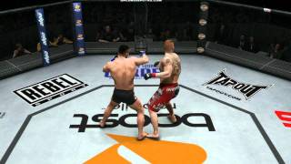 「UFC Undisputed 3」(PS3/Xbox 360)BROCK LESNAR VS MIRKO CRO COP