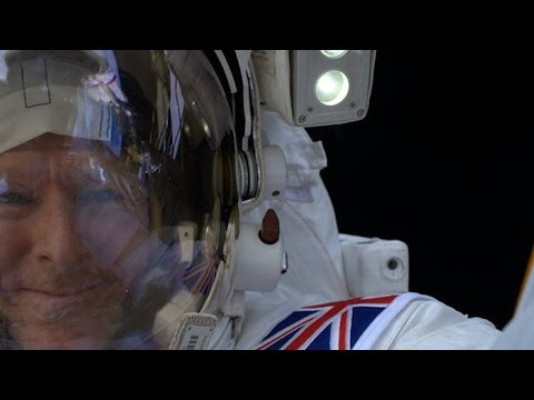 Tim Peake | Post Flight Crew Tour at Glasgow Science Centre