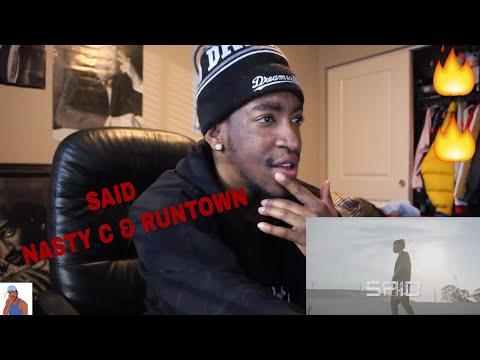 Nasty C & Runtown - Said (REACTION)