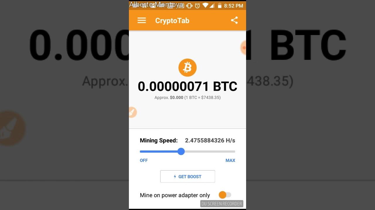 Resultado de imagen para app cryptotab