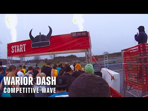 Warrior Dash - Competitive Wave Start Line