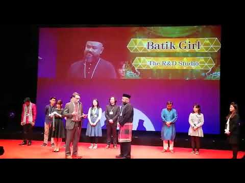 Batik Girl @ Digicon 6 ASIA 2018