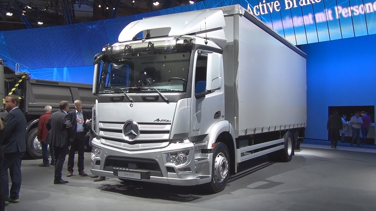mercedes-benz antos 1833 l lorry truck (2017) exterior and interior