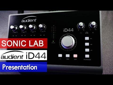 Presentation: Audient iD44 Class A USB Audio Interface