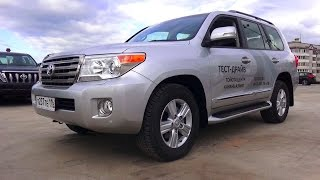 2015 Toyota Land Cruiser 200. Start Up, Engine, and In Depth Tour.