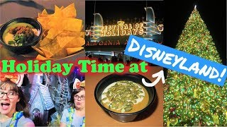 Disneyland Holiday Food & Treats 2018! - Disneyland Vlog #70/PT.2
